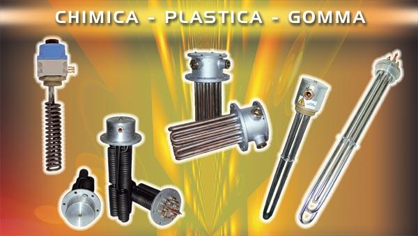 resistenze elettriche riscaldanti per chimica e plastica, riscaldatori industriali per il ...