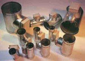 Batterie di Riscaldamento Aria per condotti cilindrici