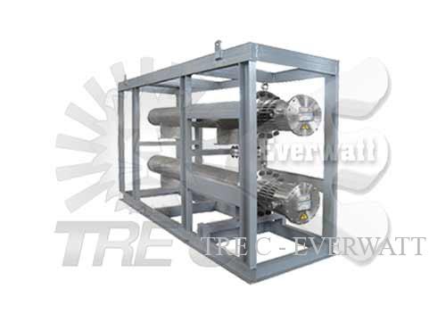 Skid di termoregolazione Aria/Gas