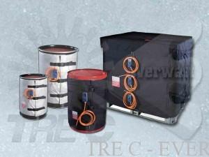 Coperte Termiche (fusti, barili, contenitori IBC)