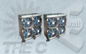 Aerotermi Elettrici (Batterie elettriche con ventilatore)