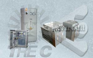 Batterie di Riscaldamento Aria e Quadri di controllo